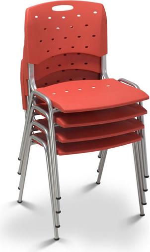 Cadeira Aproximação Empilhável 35028 P – Cavaletti