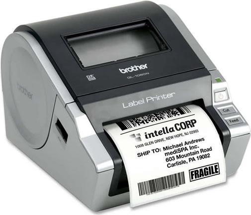 Impressora de Etiquetas QL1060N Brother
