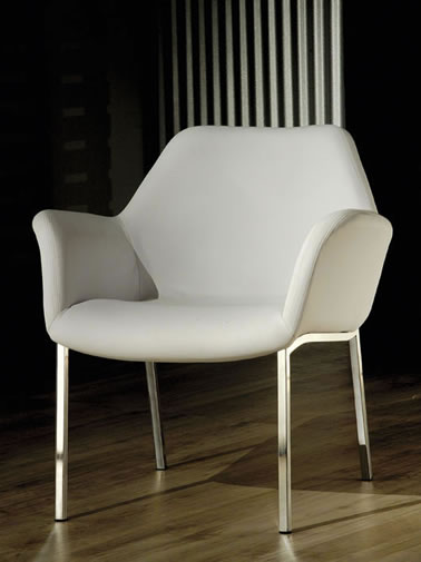 Cadeira 4 Pés Tubo Quadrado Iron – Roche